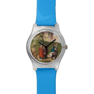 Porción y sus hijas de Albrecht Durer Reloj