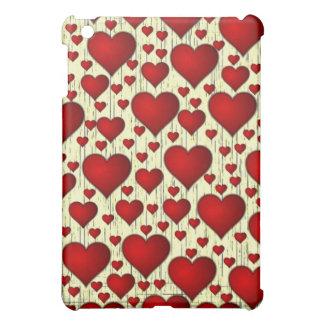 Porciones caso del iPad de los corazones de mini