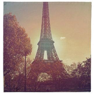 porciones de amor de París Servilleta