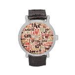Porciones de amor del vintage relojes de mano