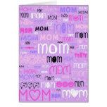 Porciones de amor para la tarjeta del día de madre