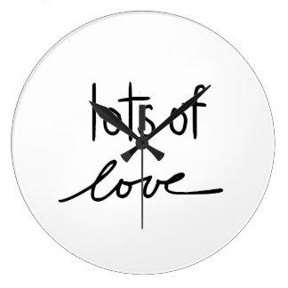 Porciones de amor reloj