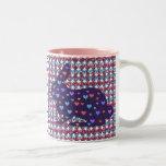 Porciones de conejos tazas de café