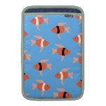 Porciones de fishies fundas macbook air