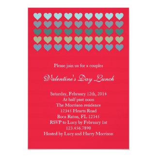 Porciones de invitación del el día de San Valentín