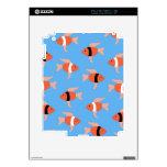 Porciones de pequeños fishies iPad 2 calcomanías