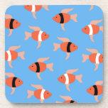 Porciones de pequeños fishies posavaso