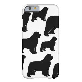 Porciones de perros de Terranova Funda De iPhone 6 Barely There