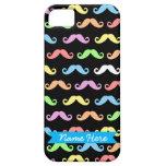 ¡Porciones de personalizable (negro) de los bigote iPhone 5 Protector