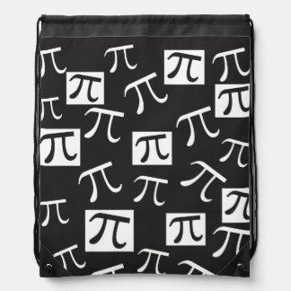 Porciones de pi - matemáticas mochila