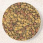Porciones de práctico de costa Nuts Posavasos Para Bebidas