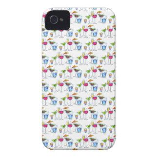 PORCIONES del CÓCTEL GLASSES.png Case-Mate iPhone 4 Protector