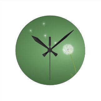Porciones frescas abstractas de deseos relojes de pared