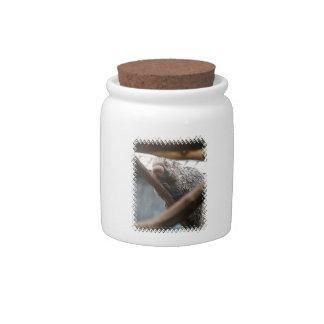 Porcupine  Candy Jar