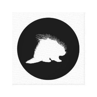 Porcupine Canvas Print