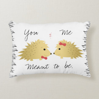 Porcupine Couple Pillow