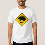 Porcupine Crossing Highway Sign T-shirt