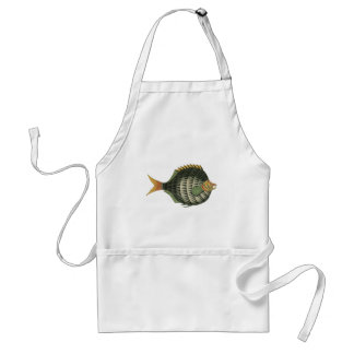 Porcupine Fish Adult Apron