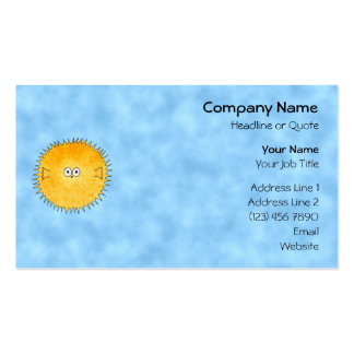 Porcupine Fish. Business Card