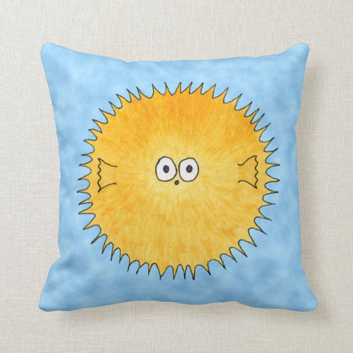 Porcupine Fish. Pillows