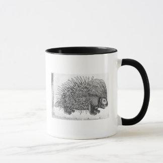 Porcupine, from 'Historia Animalium' Mug