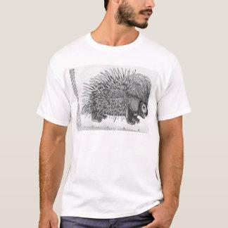 Porcupine, from 'Historia Animalium' T-Shirt
