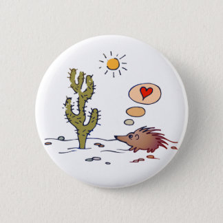 Porcupine Love Pinback Button