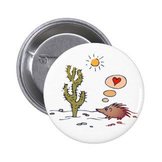 Porcupine Love Pinback Button