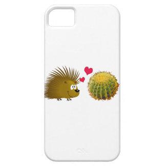 Porcupine Loves Cactus iPhone SE/5/5s Case