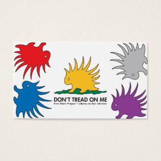 Porcupine PinWheel standard size BC Business Card