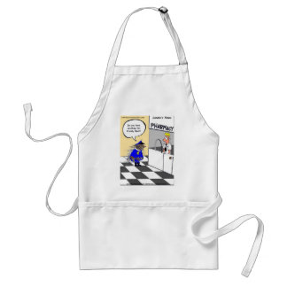 Porcupine Police Funny Gifts Tees & Collectibles Adult Apron