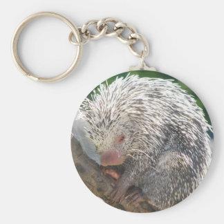 Porcupine Print Key Chains