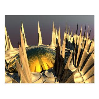 Porcupine Quills Postcard