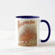 Porcupine Rag Vintage Songbook Cover Mug