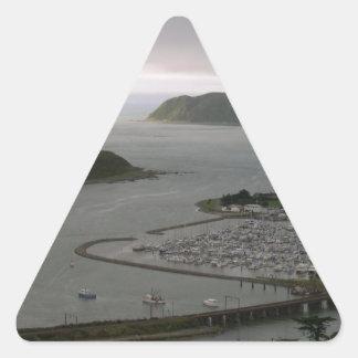 Porirua New Zealand Harbour Entrance Triangle Sticker