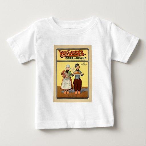 Pork&Beans infant white T Shirts