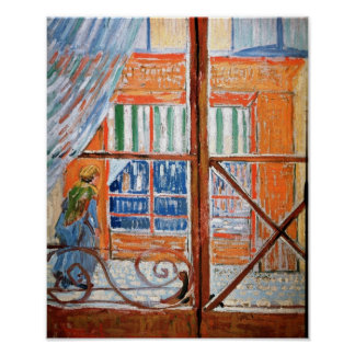Pork-Butcher's Shop from Window Van Gogh Fine Art Poster