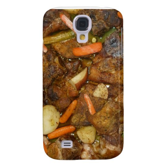 pork carrots potatoes oven baked food design samsung s4 case
