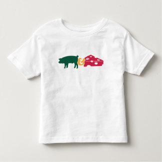 Pork & Cheese Toddler T-shirt