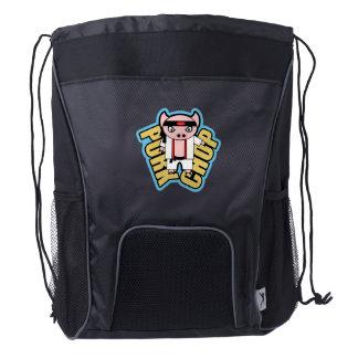 Pork Chop Drawstring Backpack