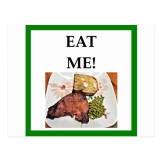 pork chop postcard