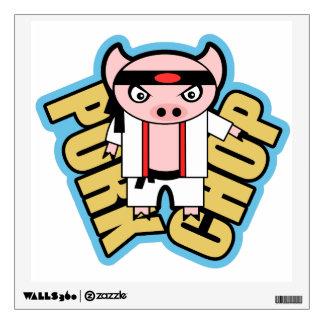 Pork Chop Wall Sticker