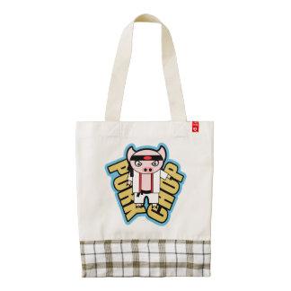 Pork Chop Zazzle HEART Tote Bag