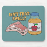 Pork Chops and Applesauce 1971 Mouse Pad