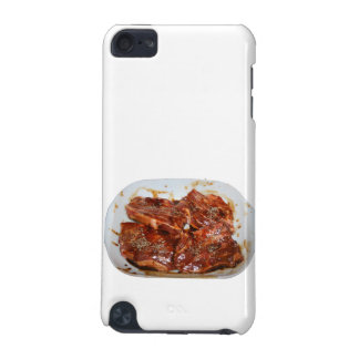 Pork Chops in White Dish Photograph iPod Touch (5th Generation) Case