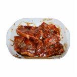 Pork Chops in White Dish Photograph Photo Cut Out