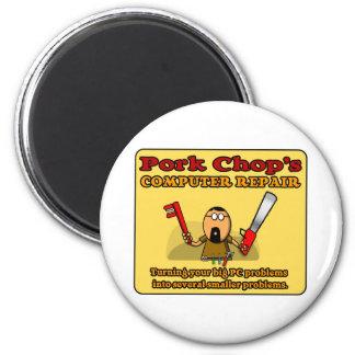 Pork Chop's PC Repair Magnet