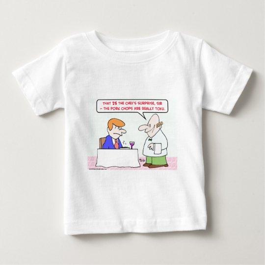 pork chops tofu waiter baby T-Shirt