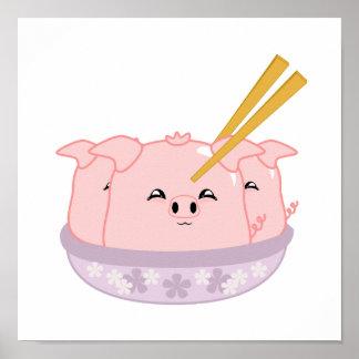 Pork Dumplings Poster