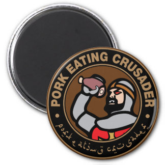 Pork Eating Crusader Magnet